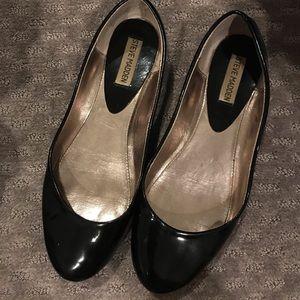 Steve Madden Black Ballet Flats